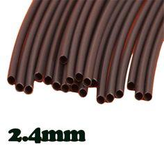 Diferente Calidad de $ Number Pies Negro ID 1/10 Poliolefina 2:1 Heat Shrink Tube Tubo Mejor Promoción
