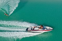 Own my own speedboat & spend more time wake boarding & out on the water.