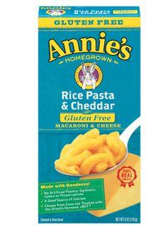 Gluten Free Rice Pasta & Cheddar - Annie's Homegrown
