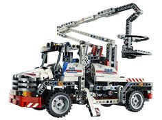 Decool Technic City Series Bucket Truck Building Blocks Bricks Model Kids Toys Marvel Compatible Legoe