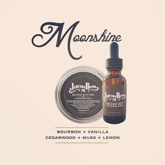 Our Moonshine blend is like two fingers of bourbon with a warm vanilla finish…