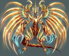 Aクラス ゼウスドラゴン。このキャラクターは、割と派手な感じですね。http://terra-battle.com/jp/    #テラバトル  #TerraBattle