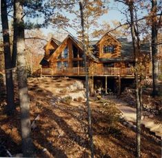 Love the Log Cabins~Bird Lake