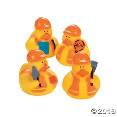 These Construction Rubber Duckies work hard at having fun. A cute addition to your construction birthday party supplies, these rubber ducks are ready to build . Construction Party Supplies, Construction Birthday Parties, 1st Boy Birthday, 2nd Birthday Parties, Birthday Banners, 1st Birthdays, Birthday Invitations, Second Birthday Ideas, Lalaloopsy Party