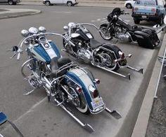 Burly Brand Long Horn Bars - Harley Davidson Forums