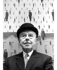 By Steve Schapiro -  Rene Magritte, 1965 - Museum of Modern Art, New York. S)