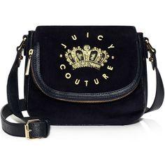 Jc Laurel Velour Flap Shoulder Bag 111