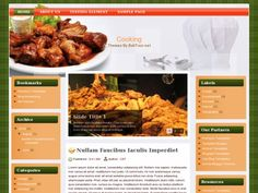 Cooking Blogger Template