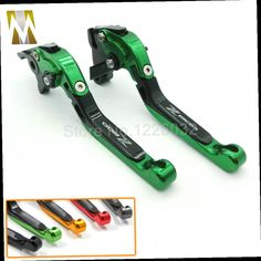 43.23$  Buy here - http://alidob.worldwells.pw/go.php?t=32774624265 - New Green Motorcycle Adjustable CNC Brakes Clutch Levers Set Motorbike brake For Kawasaki Z800/E version 2013-2015 43.23$