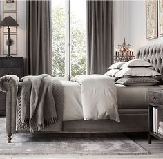 Master: IVORY. Tuck in as main quilt for bed and fold current floral across bottom. Washed Velvet Diamond-Quilted Coverlet & Sham