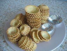 Рецепт тарталеток (2 вида теста - сладкие и под закуски)