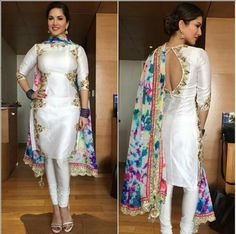 White Punjabi Suit …
