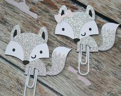 Cute fox paper clips