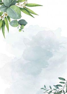 diy birthday gifts for him Flower Background Wallpaper, Flower Backgrounds, Wallpaper Backgrounds, Greenery Background, Vintage Floral Backgrounds, Free Printable Birthday Invitations, Wedding Invitation Templates, Wedding Invitations, Disney Invitations