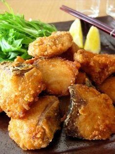 Awesome let's eat Tatsuta Age with Yellow Tail Fish Fish Recipes, Seafood Recipes, Asian Recipes, New Recipes, Baking Recipes, Favorite Recipes, Healthy Recipes, Ethnic Recipes, Japanese Dishes