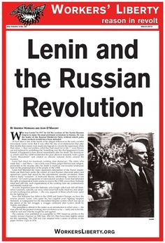 a study on vladimir lenins impact on russia Vladimir ilich lenin was born in simbirsk  during his siberian exile he produced a major study of the russian economy,  vladimir lenin.
