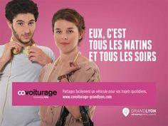Covoiturage Grand Lyon : Le covoiturage crée du lien   #Covoiturage France