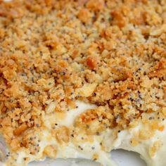 POPPY SEED CHICKEN CASSEROLE - poppy seed chicken recipe which by itself is awesome