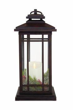 big outdoor candle lanterns
