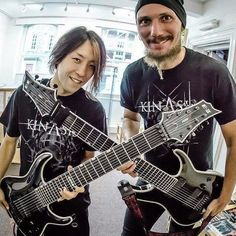 Isao Fujita and Gianluca Ferro before the ESP clinic in Bridgewater.