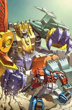 Transformers RID #10 cover colors by *khaamar on deviantART