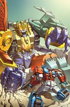 Optimus Prime vs Monstructor