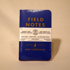 Field Notes - NH County Fair Edition