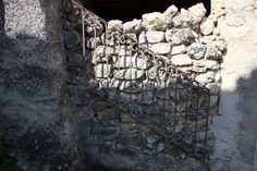 Italian wrought iron vintage stair railings