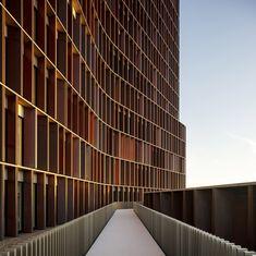 Gewinner: Maersk Tower - extension of the Panum complex at the University of Copenhagen, C.F. Møller, © Adam Mørk