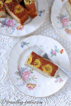 Simple Banana Cake – Whole Egg Direct Method Banana Sponge Cake, Direct Method, Whole Eggs, Chiffon Cake, Cake Shop, Pound Cake, Cake Cookies, Cake Recipes, Vanilla