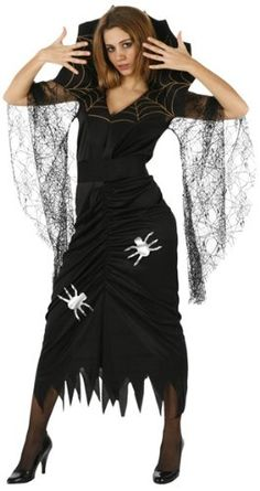 Spinnen Kostum #Halloween fur Damen » http://www.narrenzeit.com - Klicken. Freuen. Feiern.