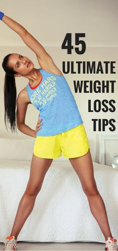 The only weight loss tips you need. I like #45.