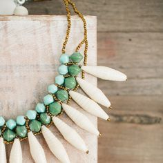 "The @31bits ""Gift of the Day"" :: the Santa Fe necklace! Get $10 off, TODAY only! (12/10/14) #31bits #fashionforgood"