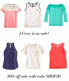 J CREW IS ON SALE // 30% off // #sale #fashion #jcrew