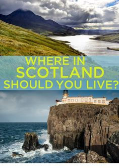Where In Scotland Should You Live? You got: The Hebrides You crave a quieter life. Beautiful beaches, incredible views - and the chance to see the Northern Lights from your home. Skye? Iona? Lewis? The choice is yours.