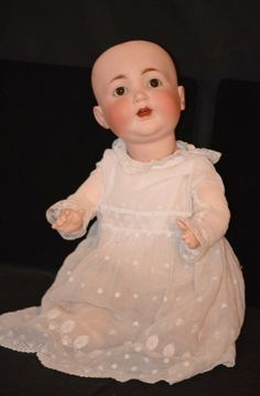 Antique Doll Bisque Kley & Hahn Baby Doll Character