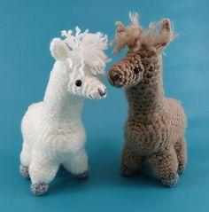 Ravelry: amigurumi alpaca pattern by Aeron Aanstoos