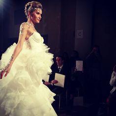Yes, this is the @pninatornai FINALE @kleinfeldbridal! #bridalmarket #bridalfashionweek