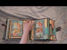 """album avec les papiers graphic 45 """"voyage beneath the sea """" - YouTube"""
