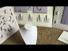 (12) Jewelry Displays for Craft Fairs - YouTube