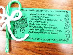 First Grade Wow: Grinch Day