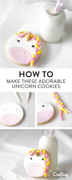 Wondering how you can add a little magic to your next party? Try this tutorial for easy unicorn cookies — they're perfect for kids and grown-ups!