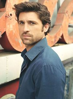 If my husband didn't exist {he is the most handsome man on the planet} this would be a close second choice ^_^ Patrick Dempsey <3