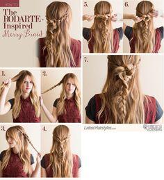 Sisters Medida Certta: Como Fazer: Penteados com Trancinhas