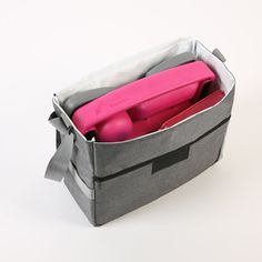 Keep the car organized this year with ZoomTOTE. Add your ZoomKIT and your child's special treasures to contain the mess & get out the door faster! Grey Fabric, Organization, Car, Kids, Design, Getting Organized, Young Children, Organisation, Automobile