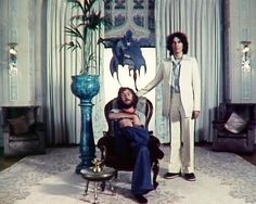 George (I'm not sure who that is with him. It may be Eric Clapton.)