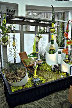 The Outlaw Gardener: Northwest Flower and Garden Show Part One: The Skybridge