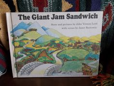 The Giant Jam Sandwichat by TheLazyBeeBookstore on Etsy, $9.99