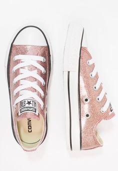 91675c0fb CHUCK TAYLOR ALL STAR JUNIOR - Sneakersy niskie - rose gold/natural/white @  Zalando.pl 🛒