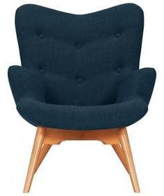 Buy Hygena Angel Fabric Chair - Navy at Argos.co.uk - Your Online Shop for Armchairs and chairs.